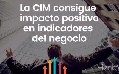 La CIM consigue impacto positivo en indicadores del negocio de empresas medianas