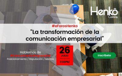 Llegó la hora de trabajar para transformar la comunicación empresarial.