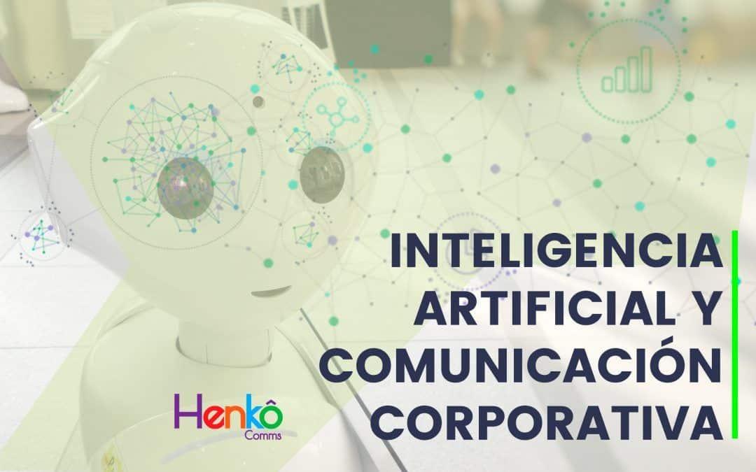 Inteligencia artificial y comunicación corporativa