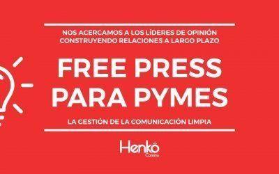 Free press, la técnica de fidelización en las relaciones públicas para las pymes.